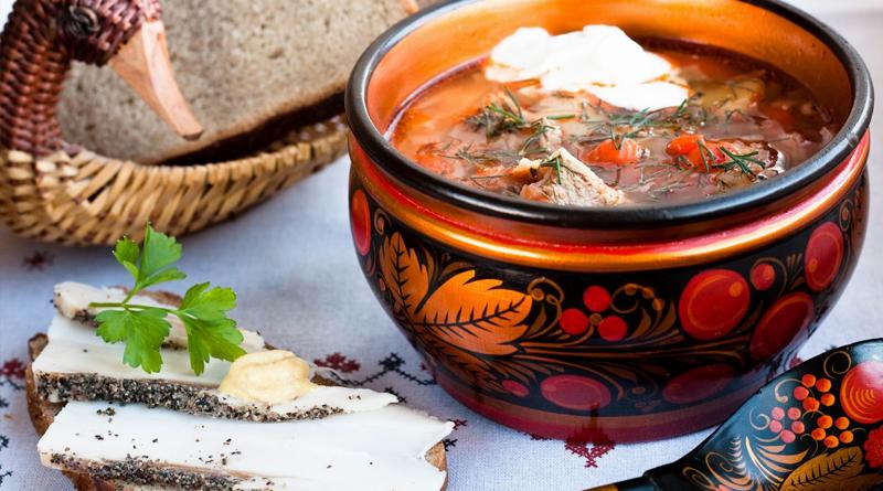 Традиционная русская кухня рецепты с фото