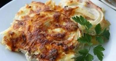 «Скатерть самобранка» — Картофельный паштет с мясом по-дворянски