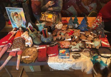 Новогодняя выставка-ярмарка мастеров Тувы