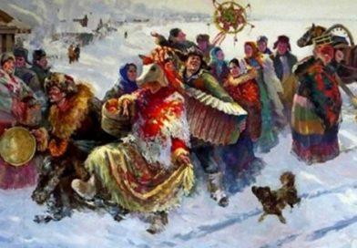 Святки — основной зимний праздник на Руси